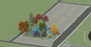 Bowman Creek Riley Parking Lot
