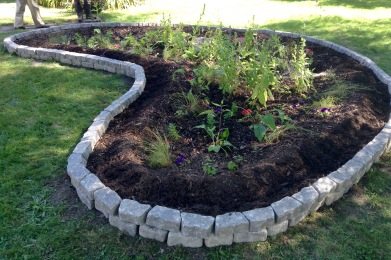 Finished Rain Garden