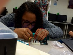 Sydnee gets intense when it comes to Arduinos